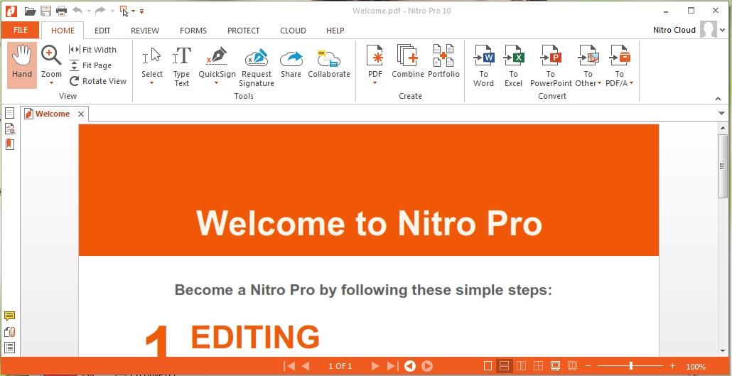 Nitro Pro Enterprise 13.22.0.414 Crack with Keygen 2020 Download