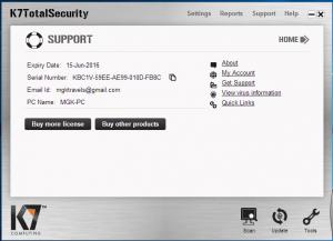 K7 Total Security 16.0.0301 Crack + Download Torrent [Latest Version]