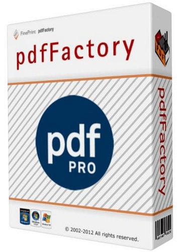PdfFactory Pro Crack 7.44 Plus Serial Key Latest 2021 Free Download
